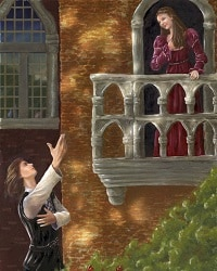 Romeo & Juliet Balcony Scene